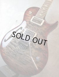 Paul Reed Smith NS-14 Neal Schon Model / 10 Top Charcoal Red Burst (Custom Color)