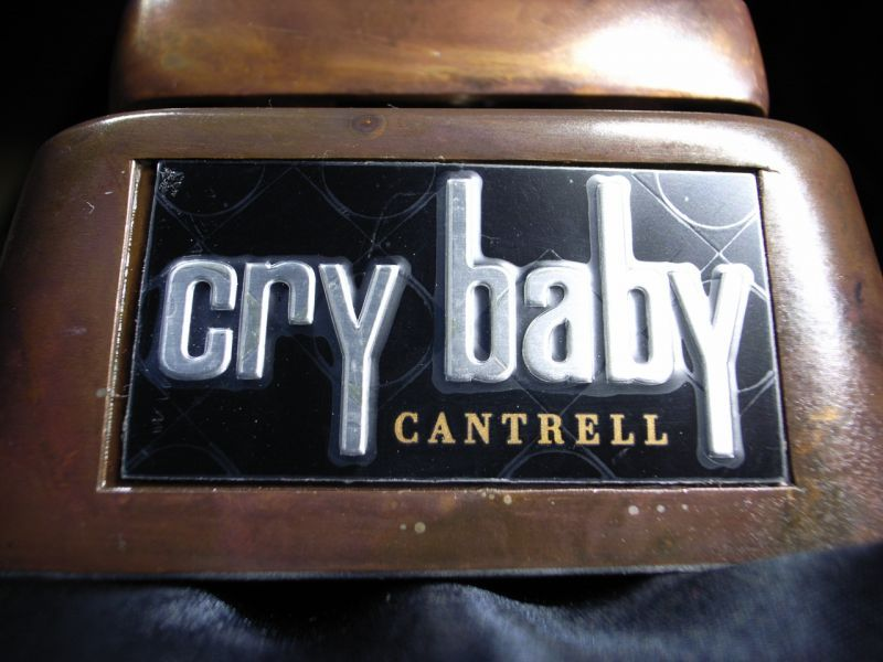 Jim Dunlop Cry Baby Jc95 Jerry Cantrell Signature Wah
