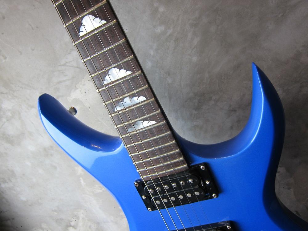 画像4: B.C.Rich USA Bich Blue Metallic / NAMM Show Model