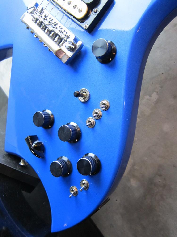 画像5: B.C.Rich USA Bich Blue Metallic / NAMM Show Model