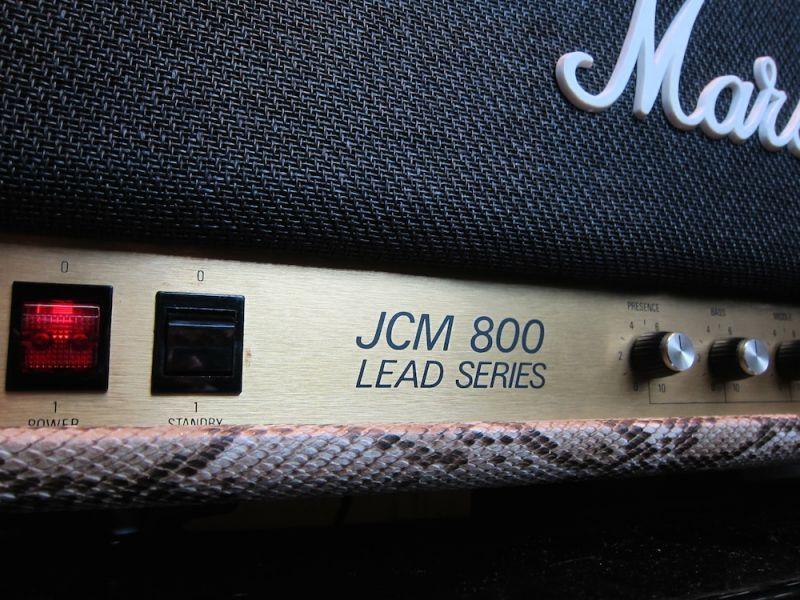 画像4: Marshall JCM800 MKII Snake Skin