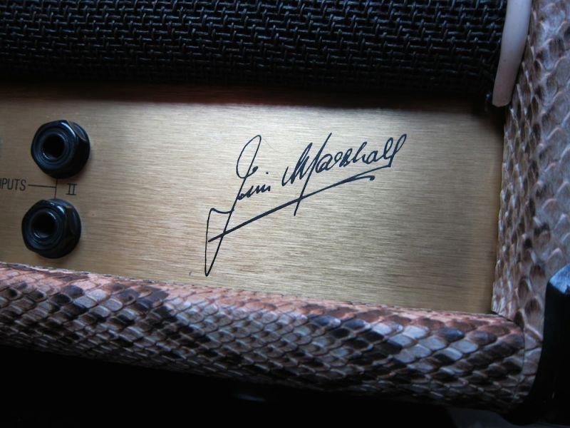 画像5: Marshall JCM800 MKII Snake Skin