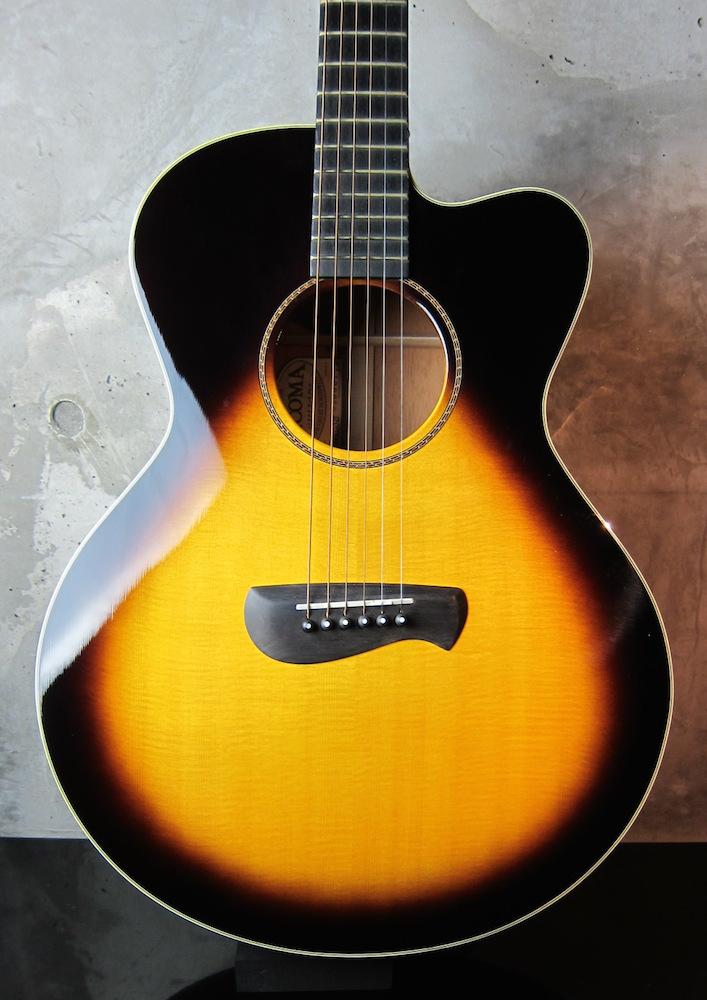 画像1: TACOMA Guitars EM-19CSB