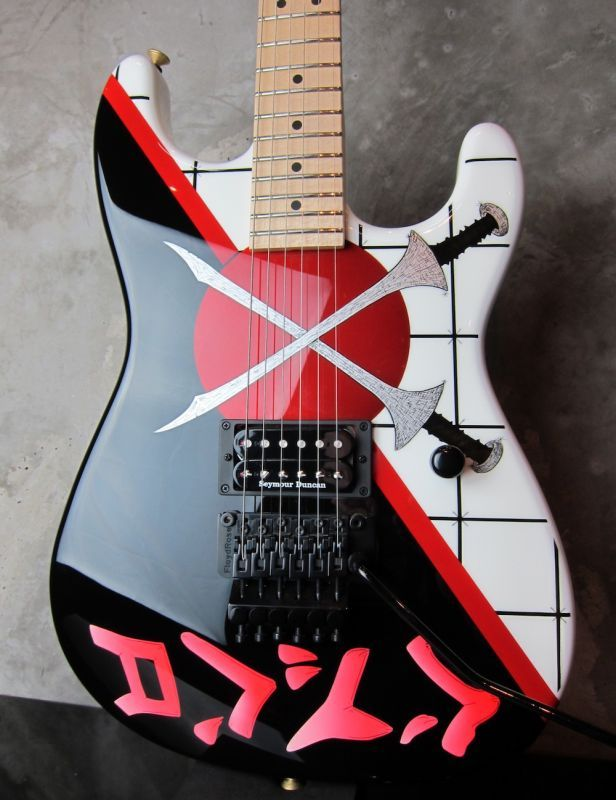 画像1: Charvel USA Custom Shop Warren Demartini Signature San Dimas Cross Swords
