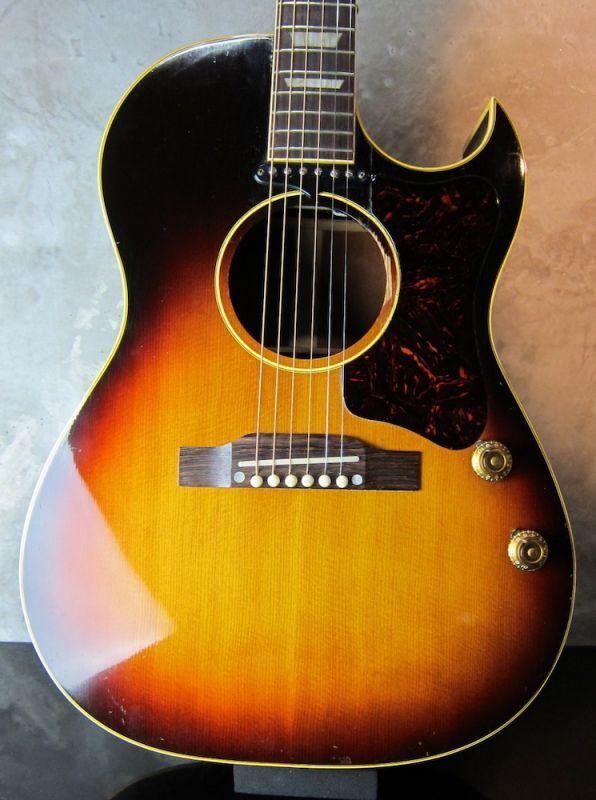 画像1: Gibson CF-100e  Sunburst 1957 / Jacaranda