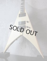 Fernandes King Flying V Limited Edition White