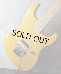 RS Guitarworks Old School Trans Yellow w/ 1P Flame Maple