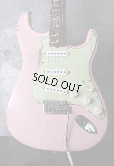 画像1: Fender USA Custom Shop Stratocaster Shell Pink / Hard Relic