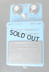 BOSS Compression Sustainer CS-1 銀ネジ #8300