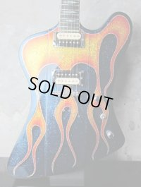 通販限定大特価商品!!!! GMP Guitars Firebird Purple Metal Flake with Flame