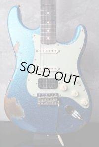 Fender Custom Shop 1962 Stratocaster SSH Blue Sparkle Heavy Relic