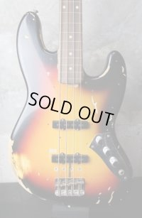 Fender Custom Shop Jazz Bass Jaco Pastorius Relic / Sunburst