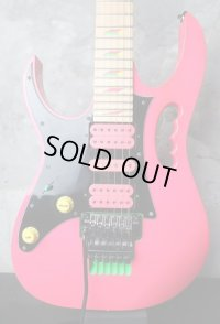 Ibanez JEM777 Lefty 30th Anniversary Steve Vai Signature Limited Edition / Shocking Pink