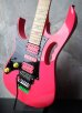 画像4: Ibanez JEM777 Lefty 30th Anniversary Steve Vai Signature Limited Edition / Shocking Pink