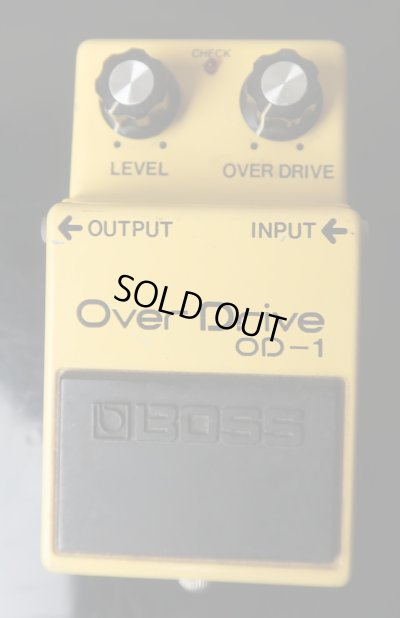 画像1: BOSS Over Drive OD-1 / Silver Screw