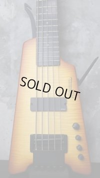Steinberger Synaps XS-15 FPA Custom 5Strings / Trans Amber