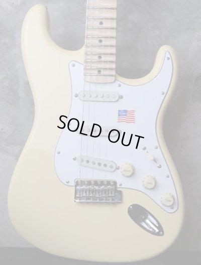 画像1: Fender USA Yngwie Malmsteen Stratocaster Vintage White / Maple