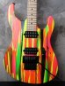 画像1: Suhr Modern 80s Shred On Neon / Drip Limited  (1)