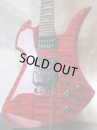B.C.Rich Mockingbird SL / Quilted Maple / Trans Red