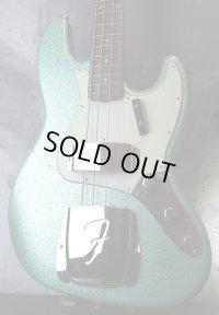 Fender USA Custom Shop Jazz-Bass '60s STACK KNOB/ Relic Aged /Green Sparkle