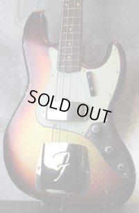 Fender Custom Shop '60s Jazz Bass Light Relic /  Sunburst Sparkle Finish / Matching Head