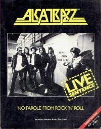 """band score  """" ALCATRAZZ """""""