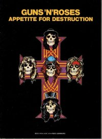 "band score  ""  Guns 'N' Roses  Appetite For Destruction """