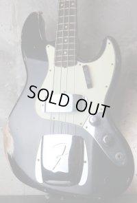 Fender Custom Shop '60s Jazz Bass Light Relic /  Aged Black