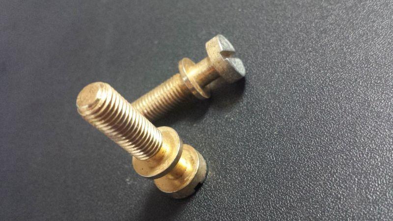 画像3: Gibson USA LP Custom / Tail Piece用 'Stud bolt' Pair (Gold)