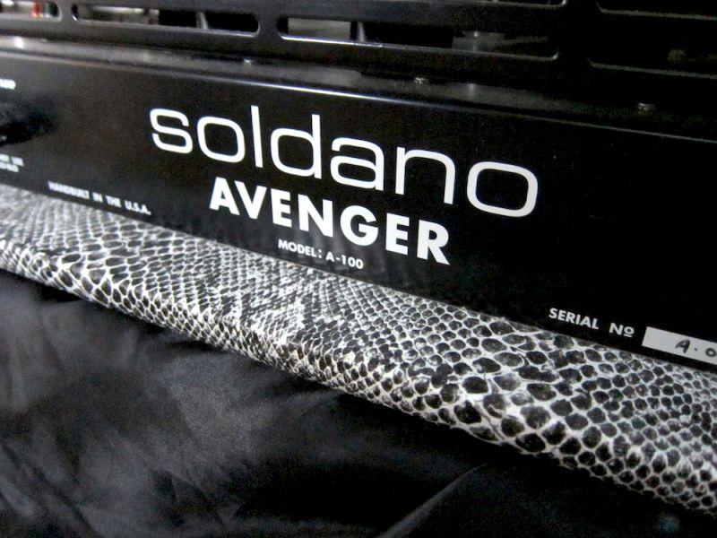 画像5: 特別大特価☆ Soldano / 100W Avenger Snake Skin