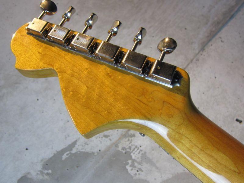 画像5: Davis Custom Guitars Vintage Stratocaster Black FRT