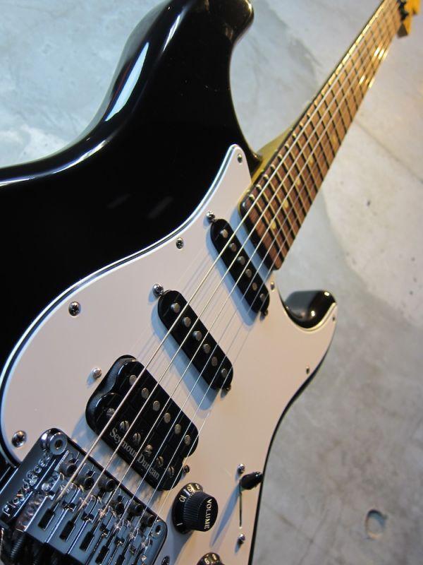 画像2: Davis Custom Guitars Vintage Stratocaster Black FRT