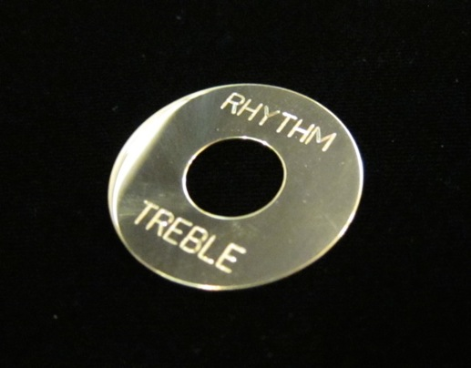 """画像1: """"Brass""""  Toggle Plate for Les Paul  / Randy Rhoads"""