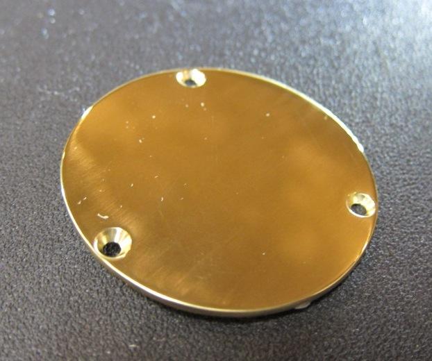 """画像2: """"Brass"""" Back Panel Plate Set . for Les Paul  / Randy Rhoads コダワリの Counter Balance Weight。 本人同仕様のLPを追求する貴方へ御届けする、究極のコンプリートアイテム!!!"""