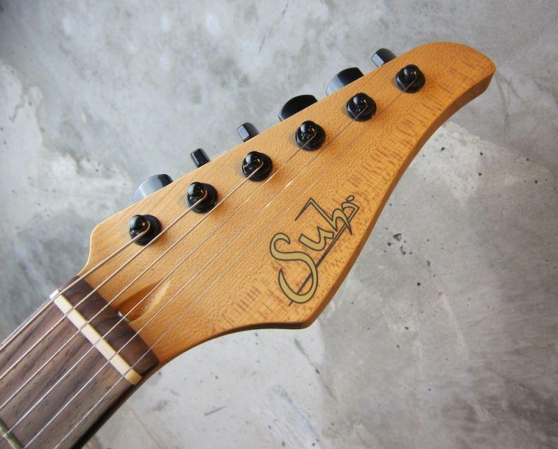 画像2: Suhr Classic Chambared Stratocaster Model / Flat Black