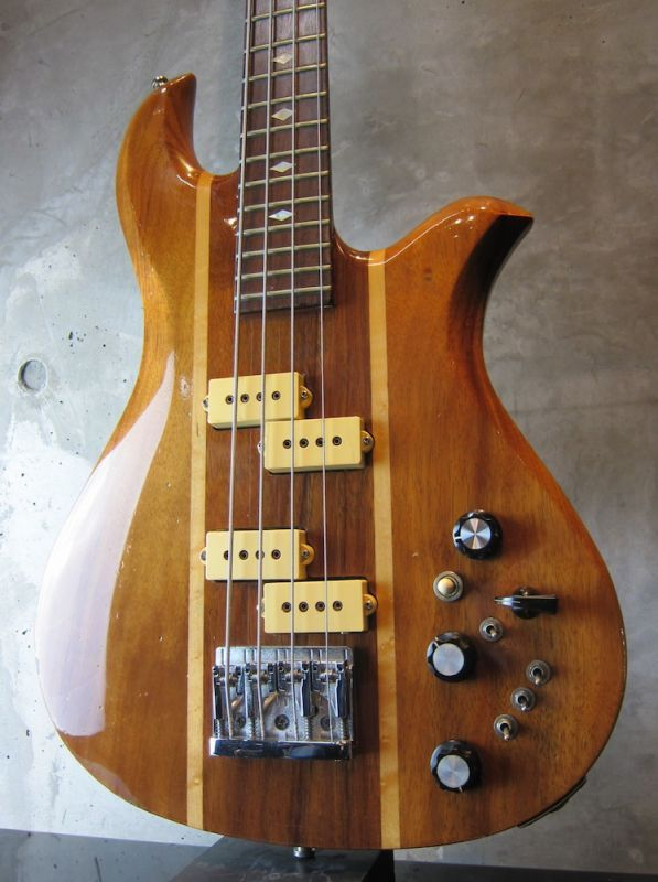 画像1: B.C. Rich  80's  Eagle Bass KOA Jacaranda w/ Flight Case
