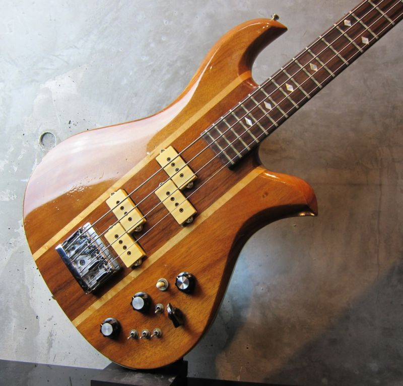 画像5: B.C. Rich  80's  Eagle Bass KOA Jacaranda w/ Flight Case