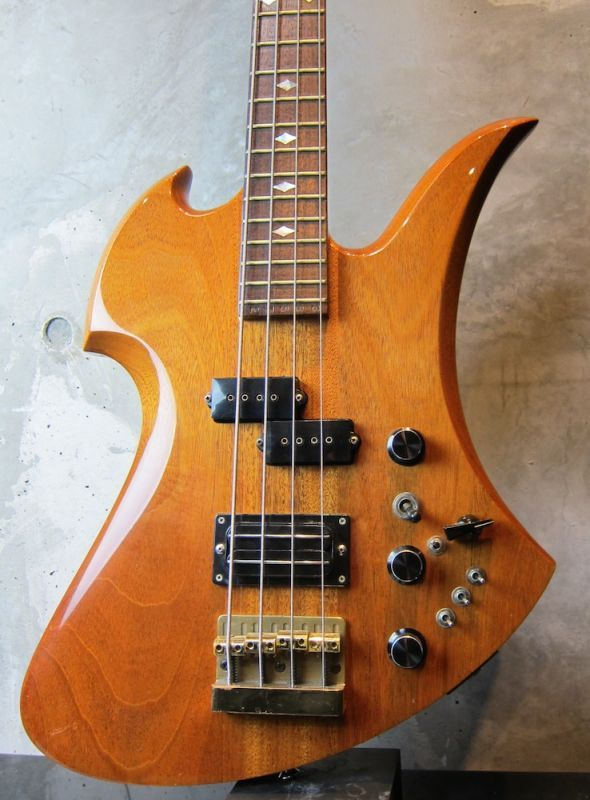 画像1: B.C. Rich USA 1984 Mockingbird Bass / All Mahogany