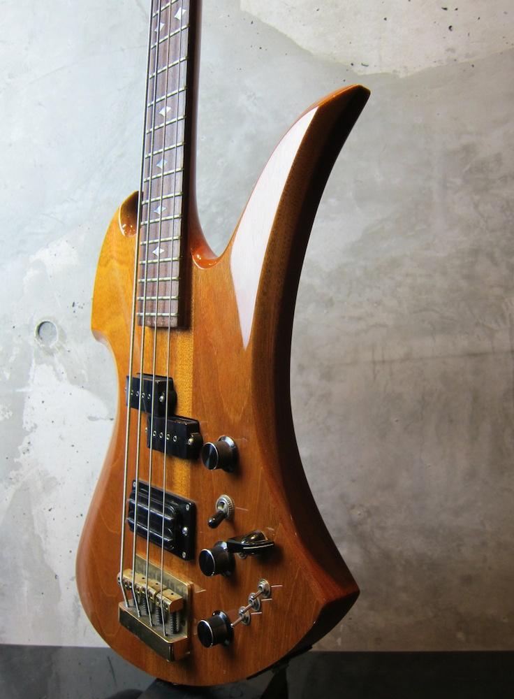 画像5: B.C. Rich USA 1984 Mockingbird Bass / All Mahogany