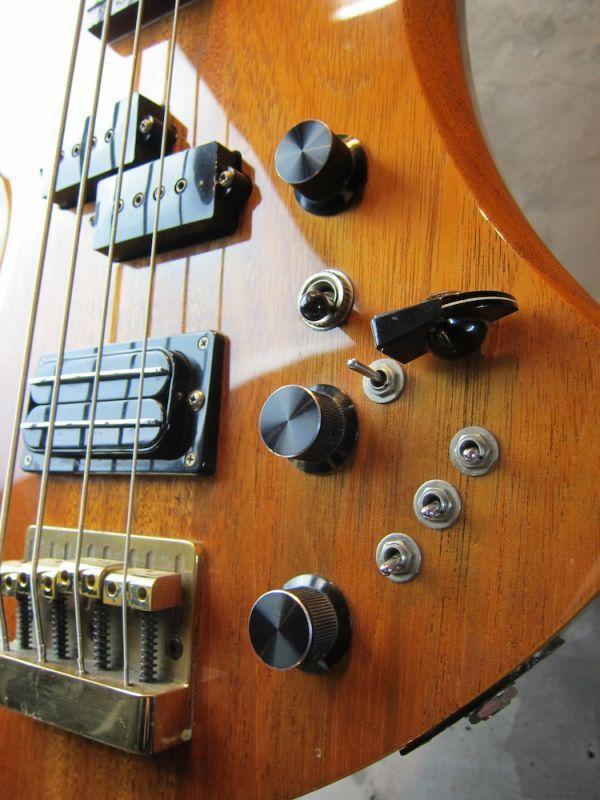 画像3: B.C. Rich USA 1984 Mockingbird Bass / All Mahogany