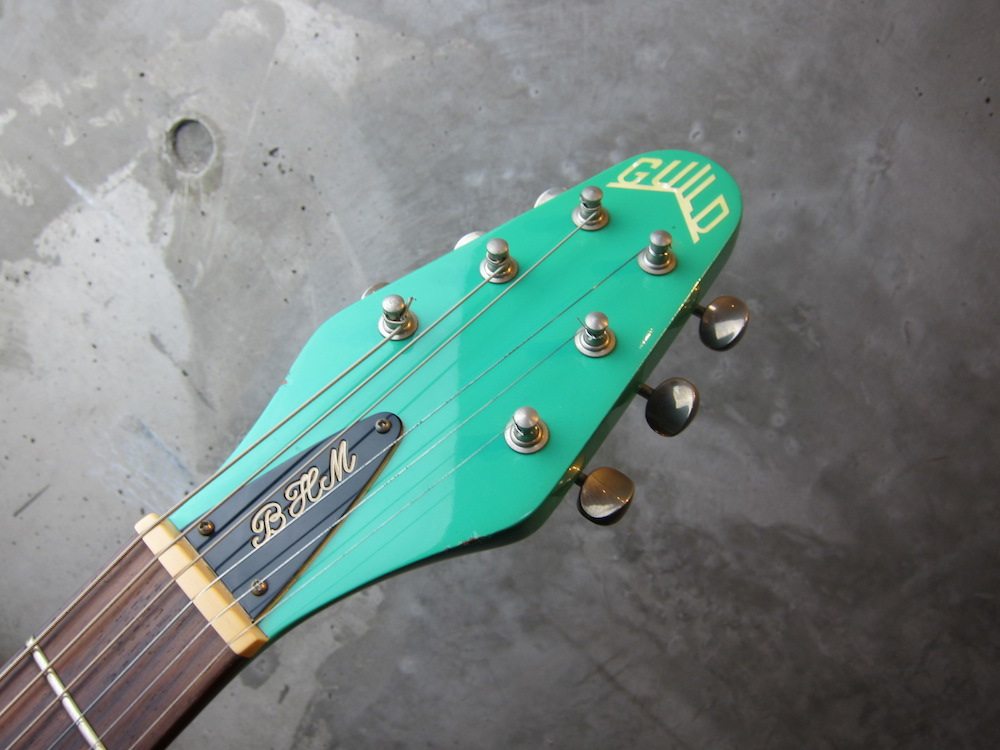 画像3: Guild Brian May Signature Model / Seafoam Green