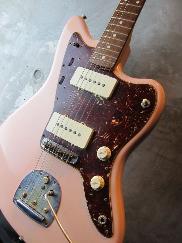 画像1: Fender USA Custom Shop Jazzmaster 1962 / Shell Pink Relic