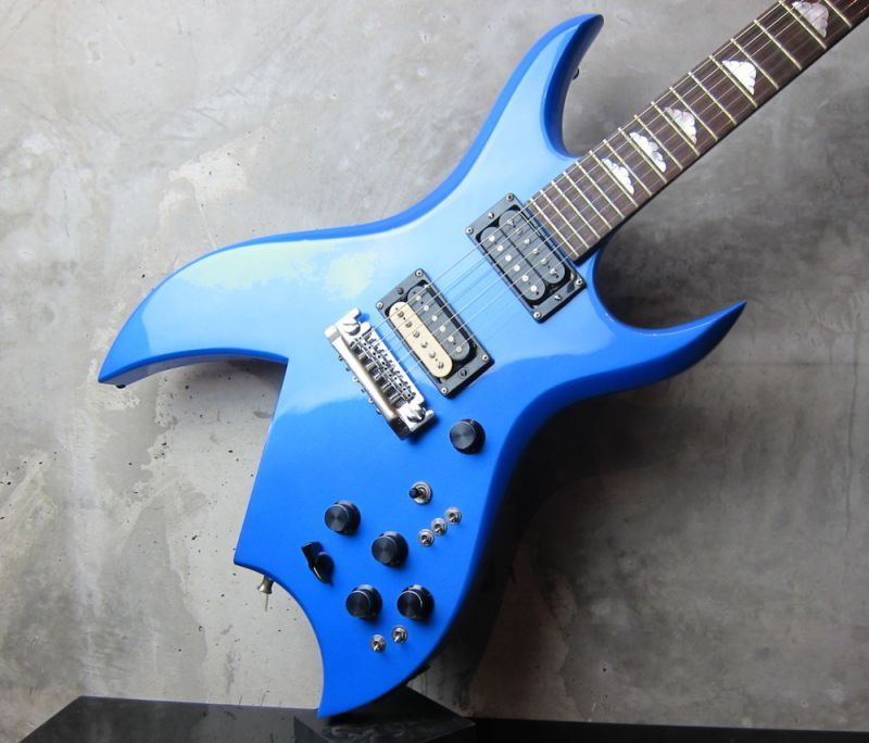 画像2: B.C.Rich USA Bich Blue Metallic / NAMM Show Model