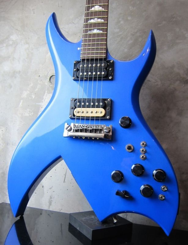 画像1: B.C.Rich USA Bich Blue Metallic / NAMM Show Model