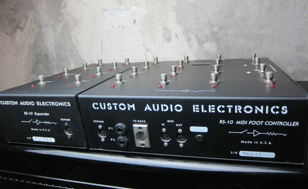 Custom Audio Electronics Rs-10 Musikinstrumente Pro-audio Equipment