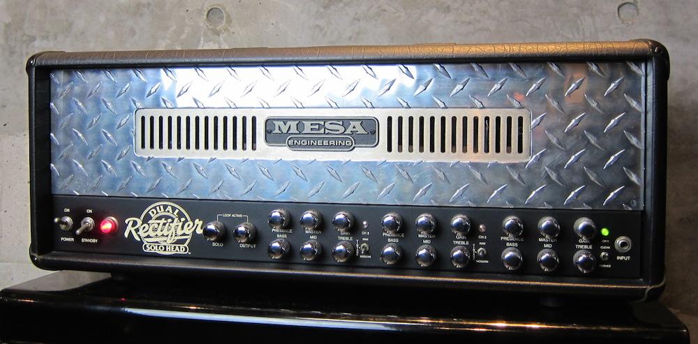 画像1: Mesa/Boogie Dual Rectifier Solo Head w/ Big Foot