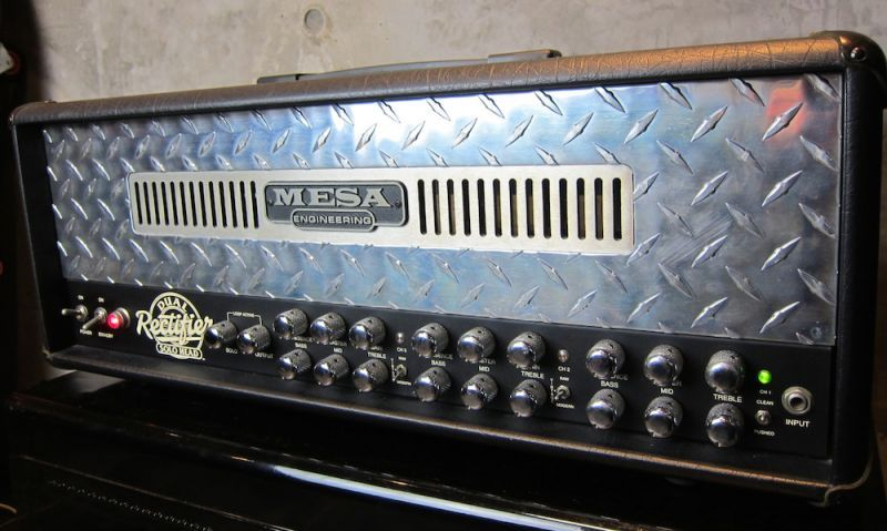 画像2: Mesa/Boogie Dual Rectifier Solo Head w/ Big Foot