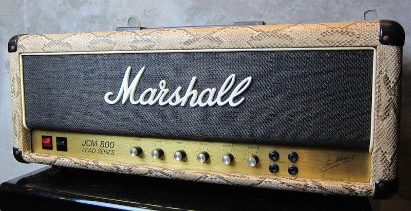 画像1: Marshall JCM800 MKII Snake Skin