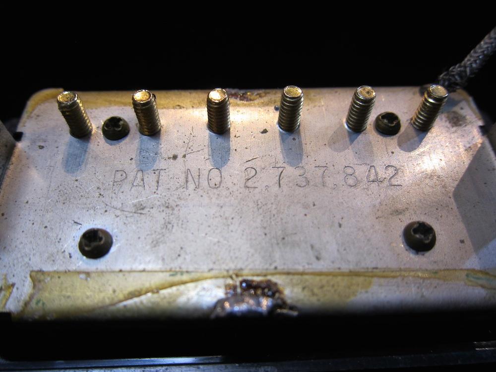 画像3: Gibson T Top Patent Number Humbucker Pickup '75 / Neck