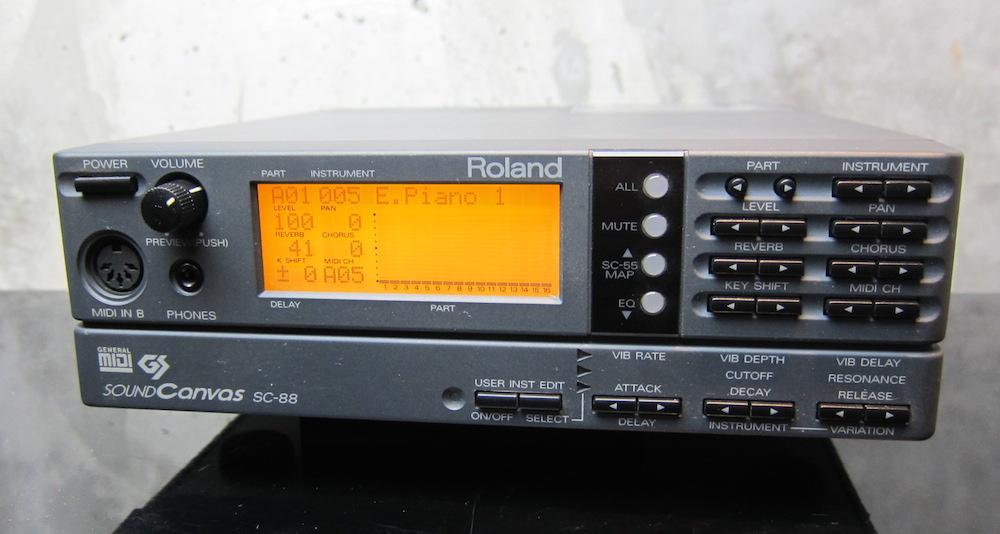 画像1: Roland SC-88